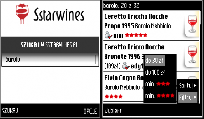 Sstarwines Mobile